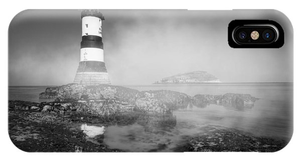 Penmon Lighthouse IPhone Case