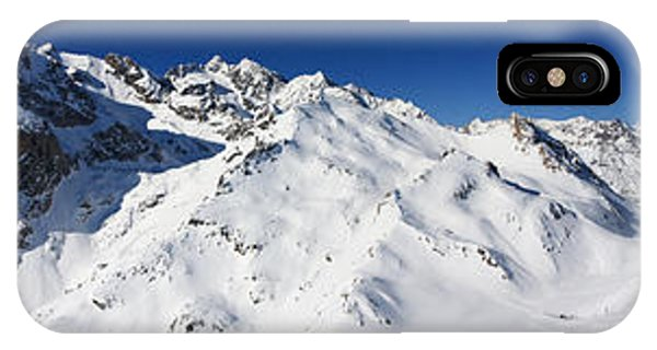 IPhone Case featuring the photograph Serre Chevalier In The French Alps by Pierre Leclerc Photography