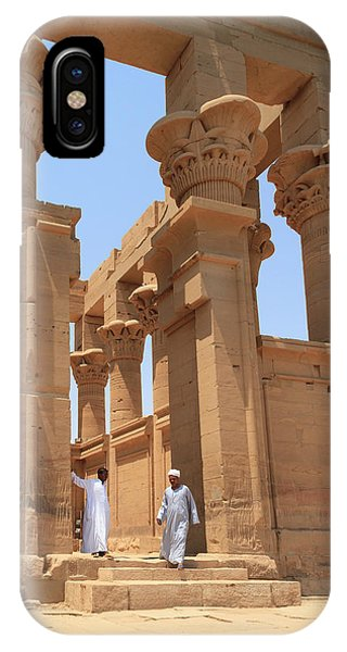 Temple Of Isis IPhone Case