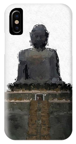 The Buddha, Pop Art By Mary Bassett IPhone Case