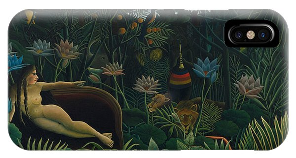 French Painter iPhone Case - The Dream  by Henri Rousseau