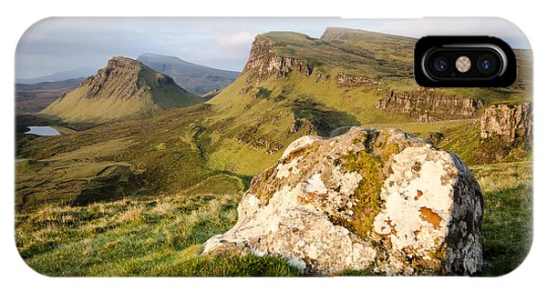 Scotland iPhone Case - The Quiraing by Smart Aviation