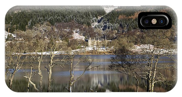 Trossachs Scenery In Scotland IPhone Case