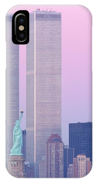 Usa, New York, Statue Of Liberty IPhone Case