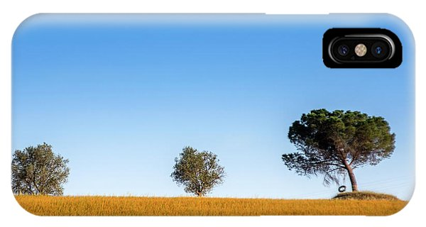 Val D'orcia Landscape IPhone Case