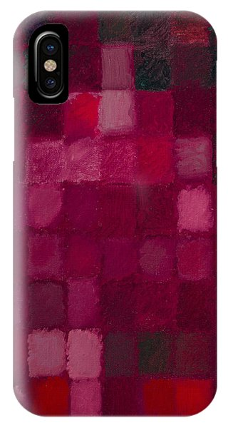 81 Color Fields - Madder Lake IPhone Case