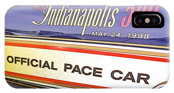 82nd Indy 500 Pace Car IPhone Case