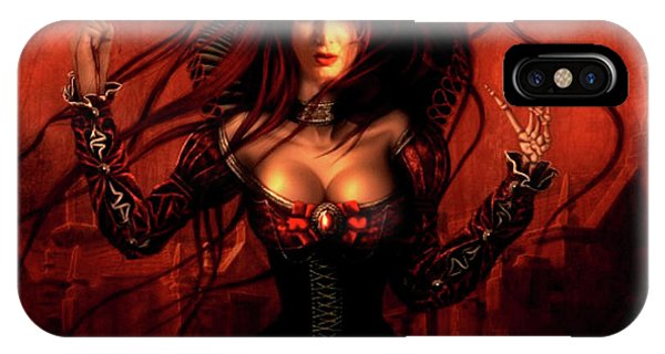 Gothic iPhone Case - Passion In The Dark Of Night by G Berry