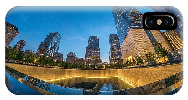 9/11 Memorial IPhone Case