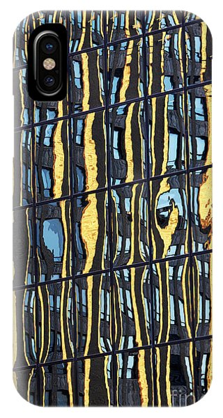iPhone Case - Abstract Reflection by Tony Cordoza