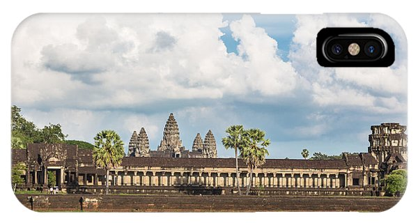 Angkor Wat In Cambodia IPhone Case