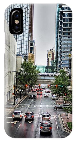 Charlotte North Carolina Views Around  Downtown IPhone Case