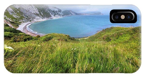 Dorset iPhone Case - Jurassic Coast - England by Joana Kruse