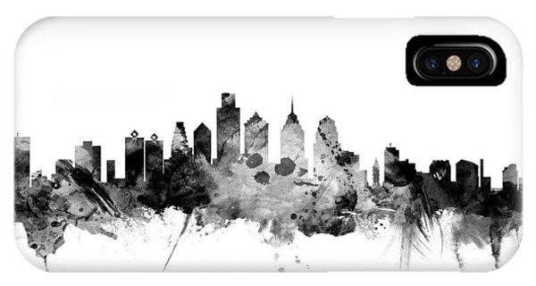 Philadelphia Pennsylvania Skyline IPhone Case