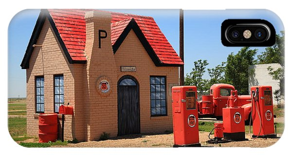 Route 66 - Phillips 66 Gas Station IPhone Case