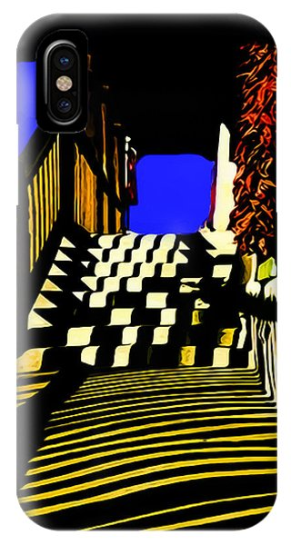 Streets Of Taos IPhone Case