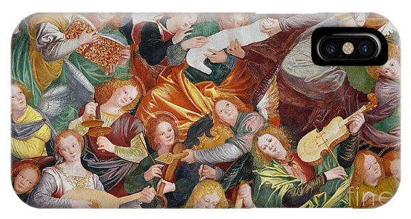 Strum iPhone Case - The Concert Of Angels by Gaudenzio Ferrari