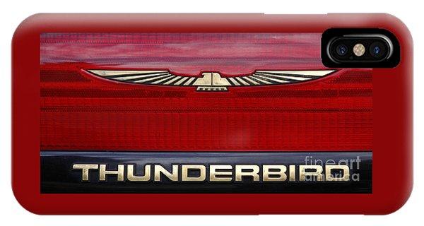 90s Thunderbird IPhone Case