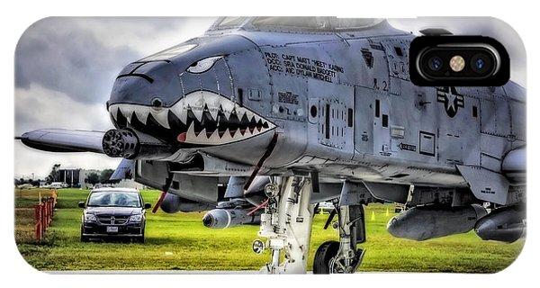 A-10 Thunderbolt  IPhone Case
