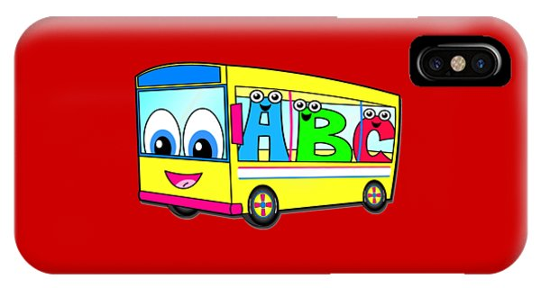 A B C Bus T-shirt IPhone Case