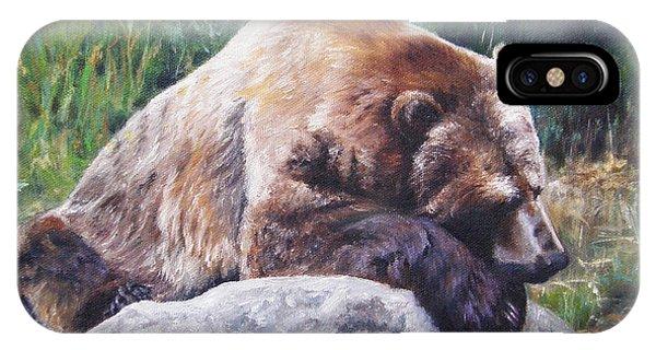 A Bear Of A Prayer IPhone Case