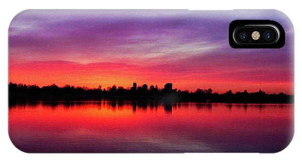 Sunrise At Sloan's Lake IPhone Case
