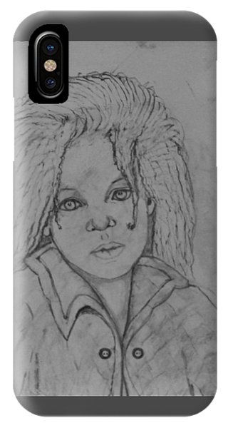 Wistful, The Drawing. IPhone Case