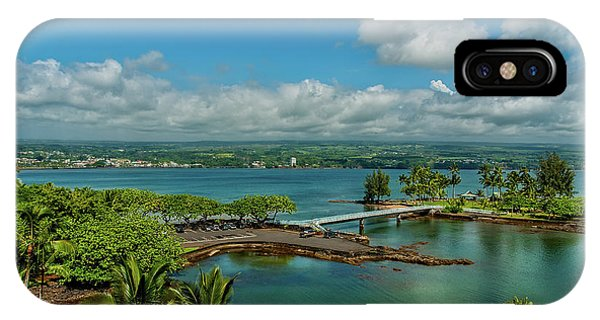 A Beautiful Day Over Hilo Bay IPhone Case