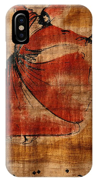 Turkey iPhone Case - A Beautiful Painting Of A Whirling by Gianluca Colla