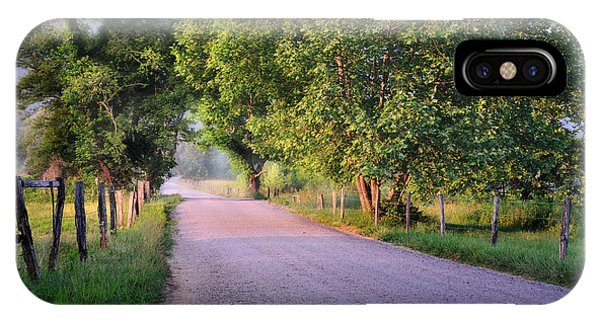 Morning Light Sparks Lane  IPhone Case