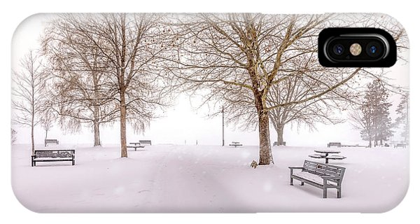 A Beautiful Winter's Morning  IPhone Case