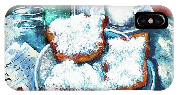 A Beignet Morning IPhone Case