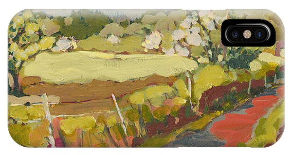 Impressionism iPhone Case - A Bend In The Road by Jennifer Lommers