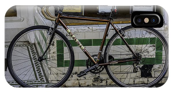 A Bicycle In The French Quarter, New Orleans, Louisiana IPhone Case