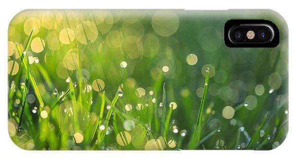 A Bit Of Green IPhone Case