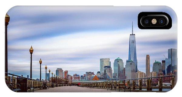 A Boardwalk In The City IPhone Case