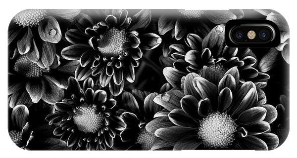 White Background iPhone Case - A Bouquet  by Masako Metz
