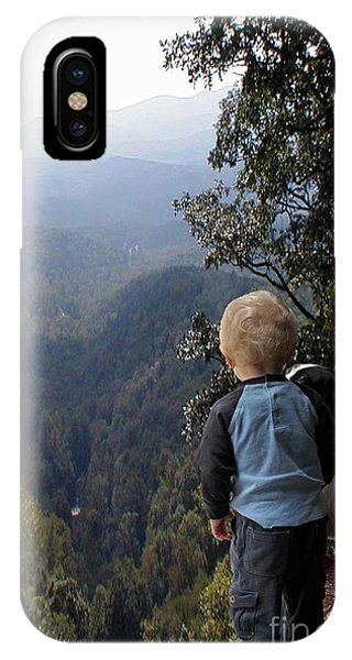 A Boy And His Dog IPhone Case