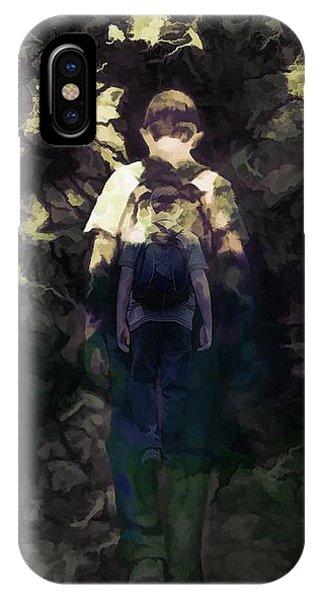A Boys Walk IPhone Case