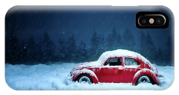 A Bug In The Snow IPhone Case