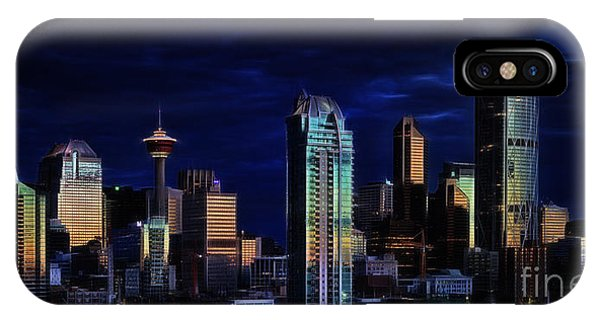 A Calgary Sunrise IPhone Case