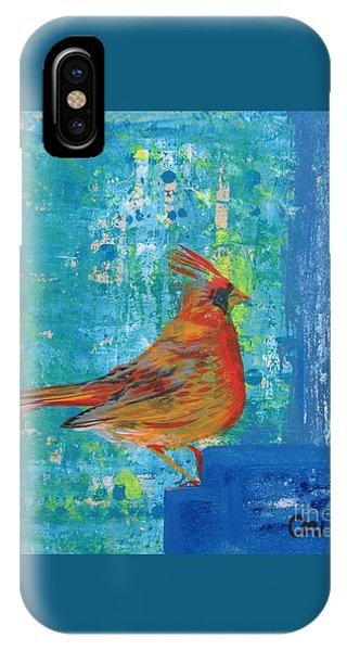 A Cardinal Came By IPhone Case
