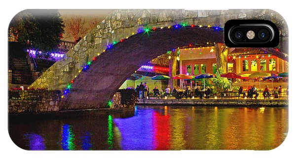 A Casa Rio Christmas On The Riverwalk IPhone Case