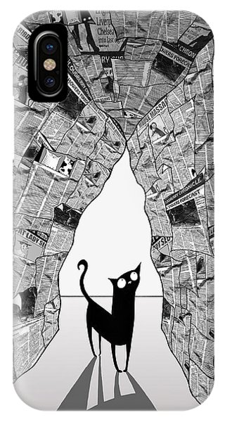 Andrew iPhone Case - A Cat's Eye View by Andrew Hitchen