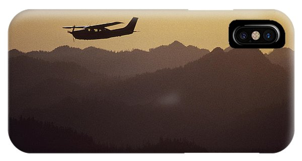 A Cessna 210 Soars Above Olympic IPhone Case