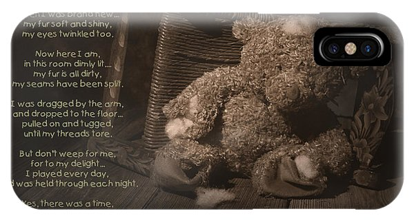 Abandon iPhone Case - A Child Once Loved Me Poem by Tom Mc Nemar