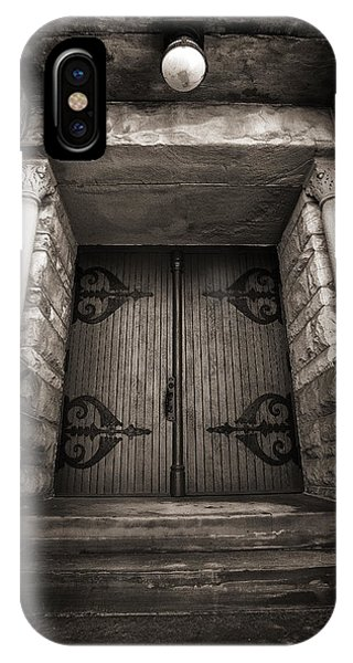 A Church Door IPhone Case
