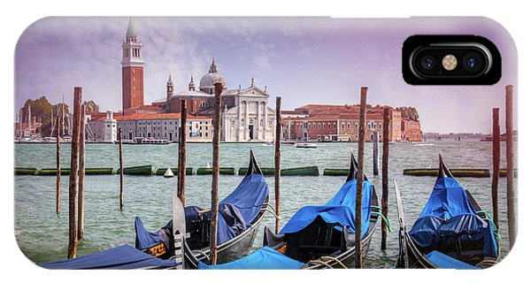 A Classic View Of Venice Italy  IPhone Case
