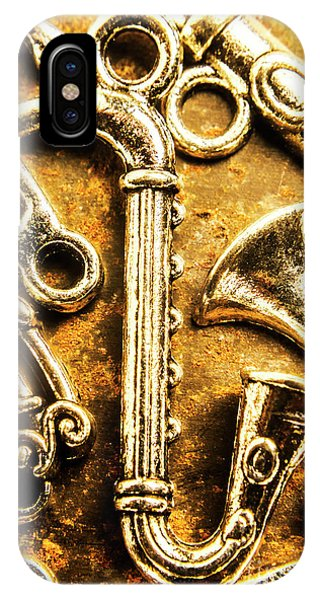 Saxophone iPhone Case - A Classical Composition by Jorgo Photography - Wall Art Gallery