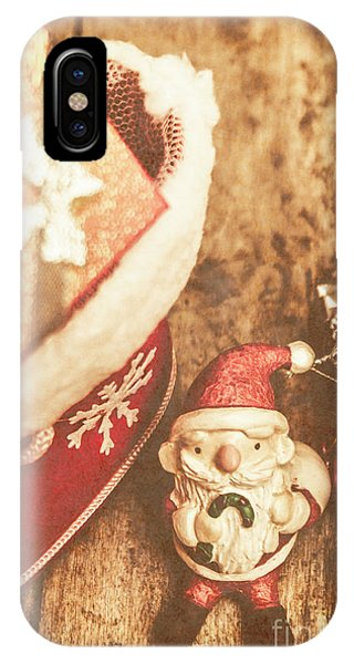Santa Claus iPhone Case - A Clause For A Merry Christmas  by Jorgo Photography - Wall Art Gallery